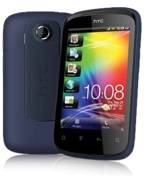 Telefon Mobil HTC Explorer A310e Black/Blue