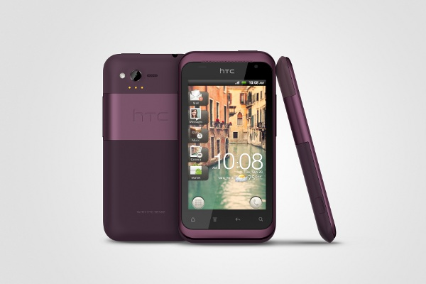 Telefon Mobil HTC Rhyme S510b Grey/Purple bundle