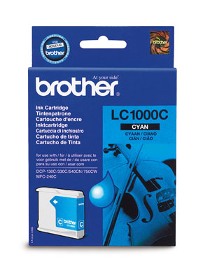 Cartus Original CYAN LC1000C/Y/M BROTHER MFC 5460CN